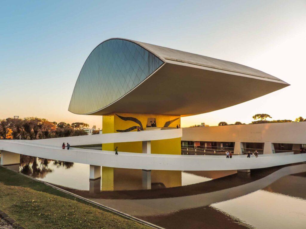 Museum of Modern Art in Curitiba, Brazil
