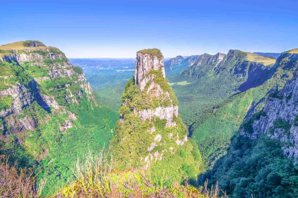 Espraiado Canyon in Urubici, Santa Catarina