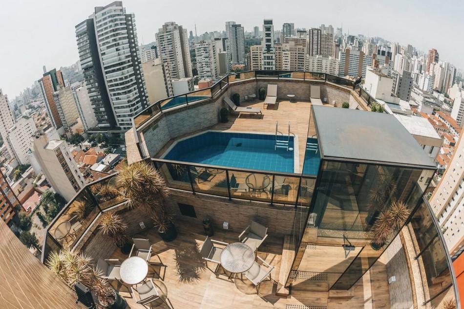 Golden Tower Hotel in São Paulo