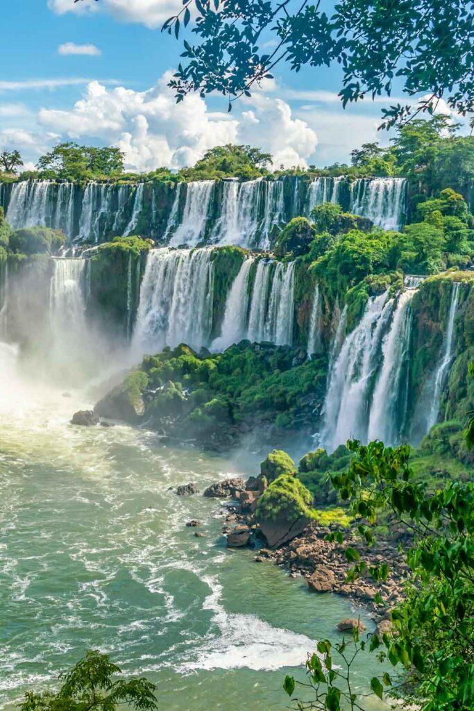 Iguazu Falls in Paraná