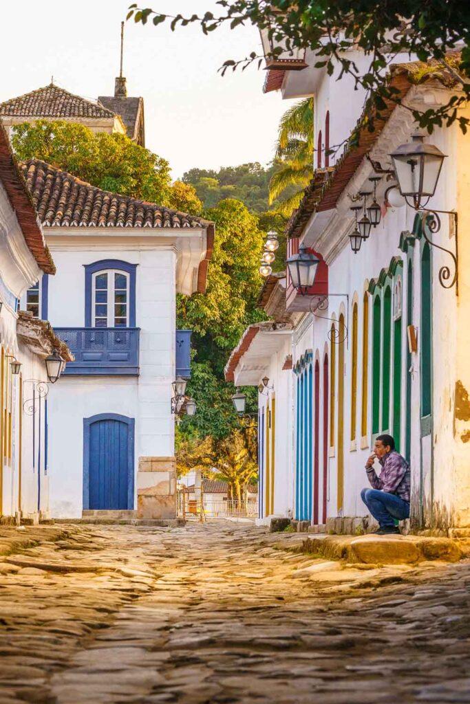 Paraty town in Rio de Janeiro