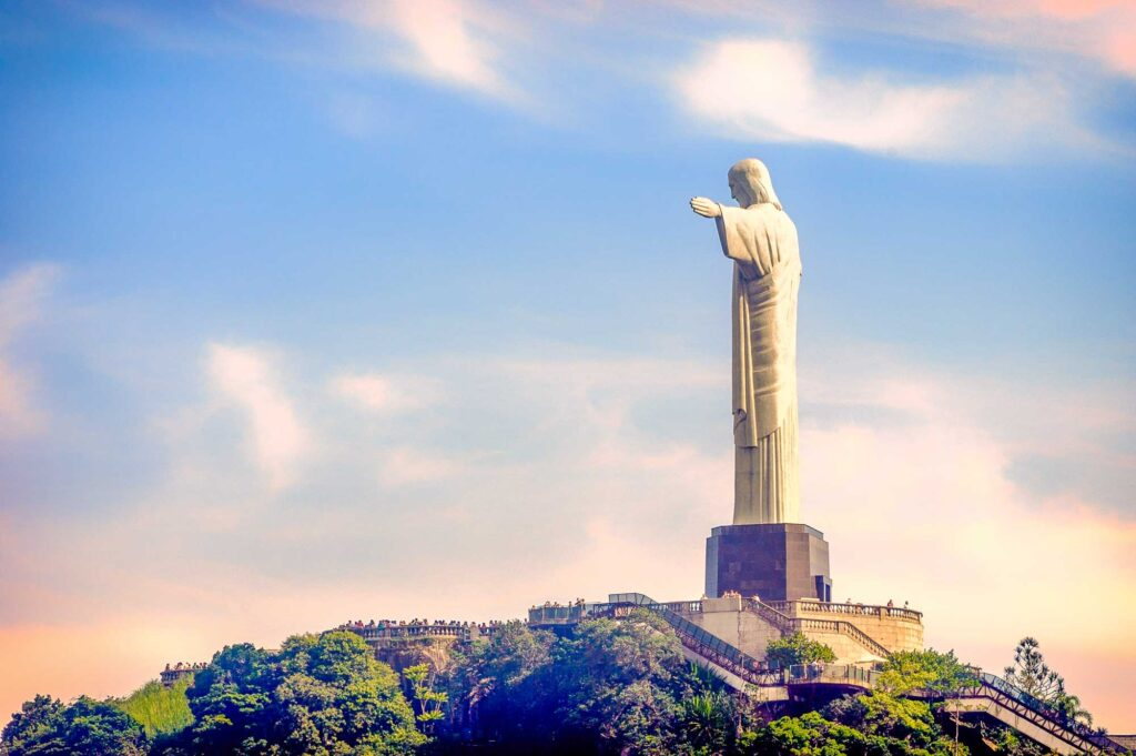 Christ the Redeemer is the most prominent Brazilian statue