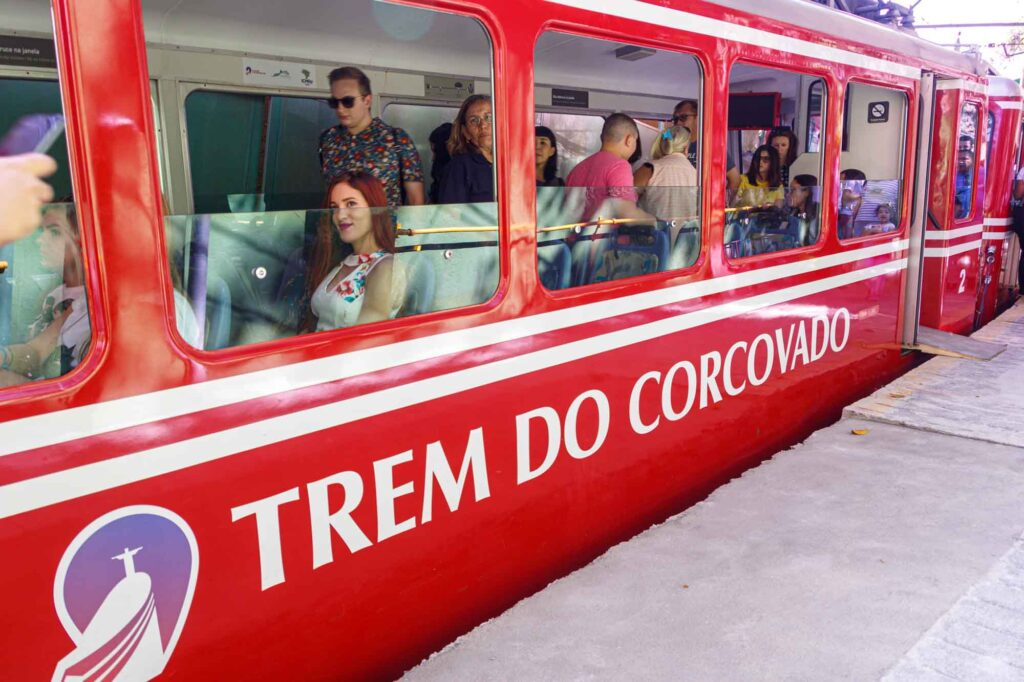 Corcovado Train to reach the Christ the Redeemer statue