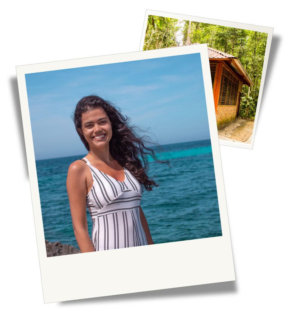 Bruna, writer and owner of I Heart Brazil