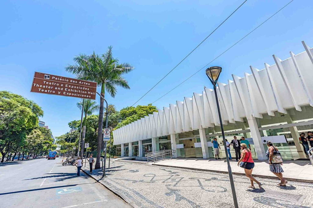 Paying a visit to the Palácio das Artes is one of the top things to do in Belo Horizonte, Brazil