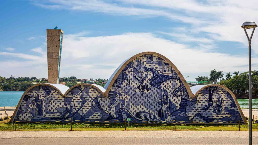 Visiting the São Francisco of Assis Church is one of the best things to do in Belo Horizonte, Brazil