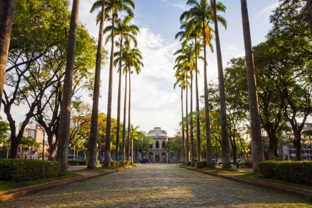 Admiring the Liberdade Square is one of the fun things to do in Belo Horizonte, Brazil