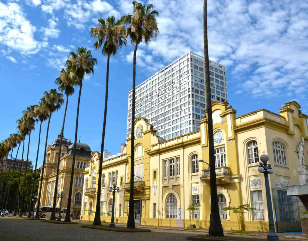 Exploring the Alfândega Square is one of the best things to do in Porto Alegre, Brazil