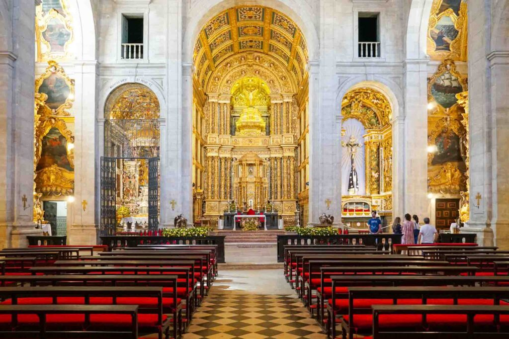 Visiting the Cathedral of Salvador is one of the best things to do in Salvador, Brazil