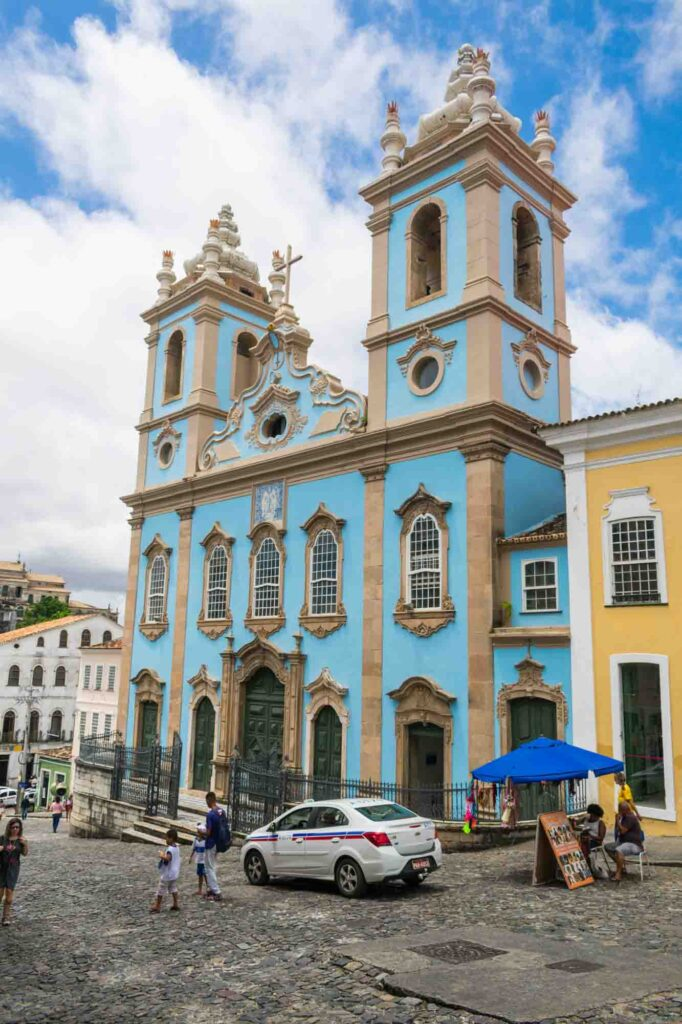 Discovering the history of the Church of Our Lady of the Rosary of the Black People is one of the best things to do in Salvador, Brazil