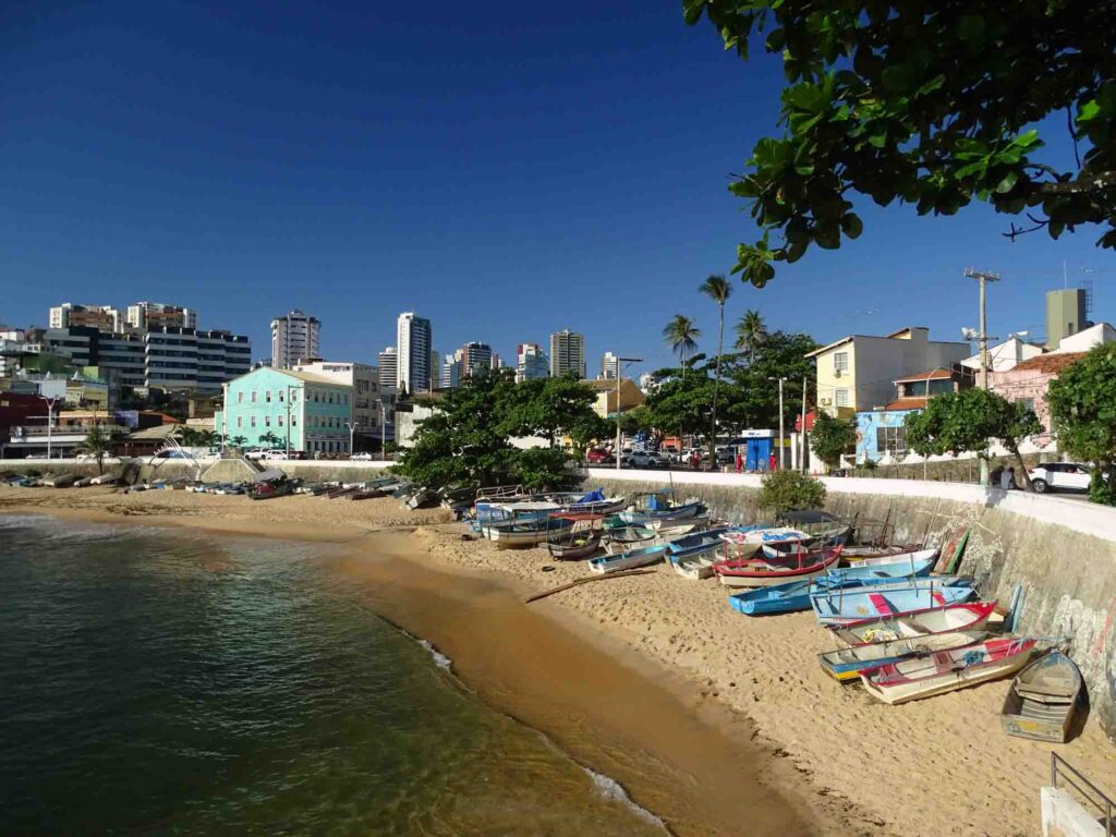 Wandering through the Rio Vermelho District is one of the fun things to do in Salvador, Brazil