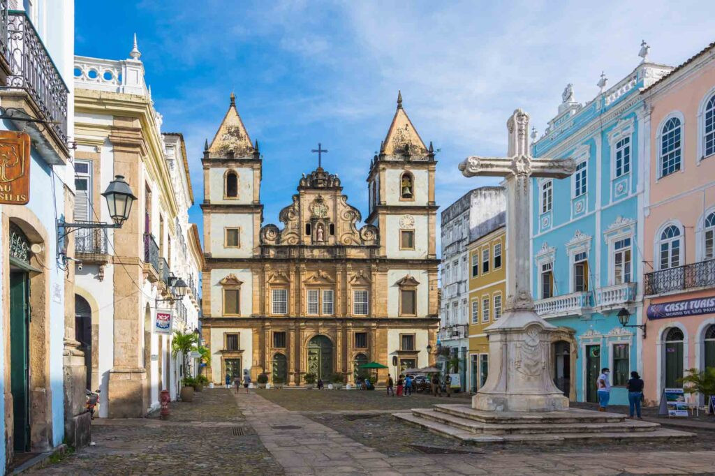 Admiring the Church of São Francisco is one of the best things to do in Salvador, Brazil