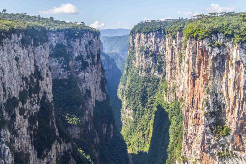Itaimbezinho Canyon in Aparados da Serra National Park