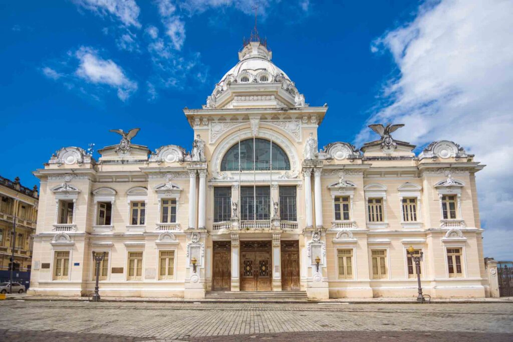Taking a tour of the Rio Branco Palace is one of the best things to do in Salvador, Brazil