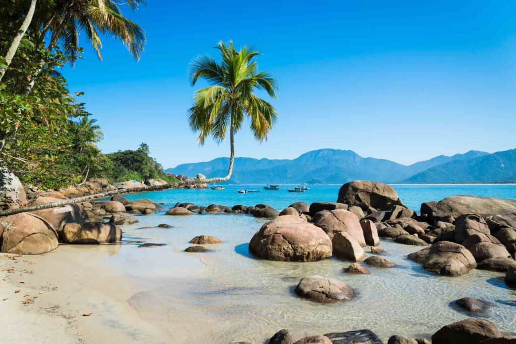 Big island, Ilha grande , Rio de Janeiro, Brazil
