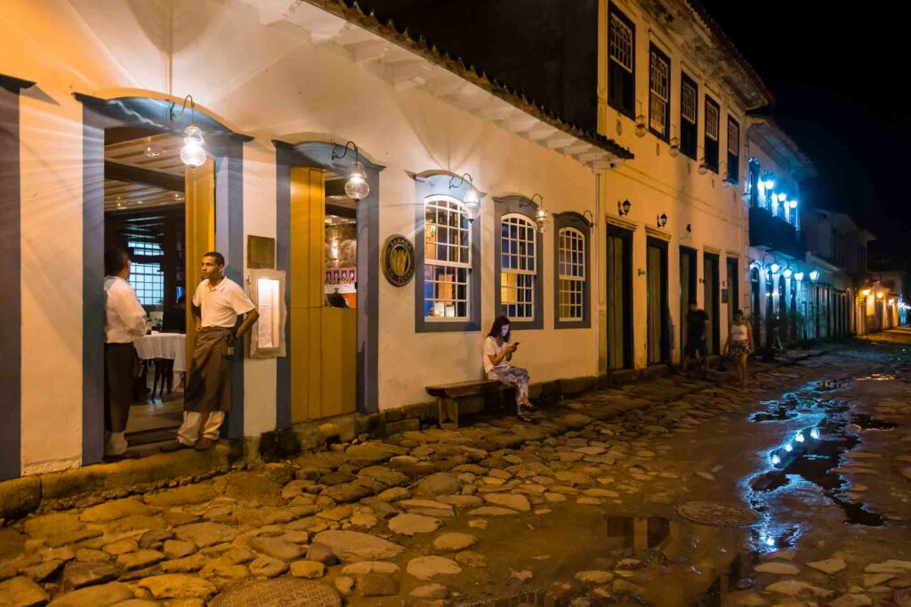 Indulging at Banana da Terra restaurant is one of the things to do in Paraty, Brazil