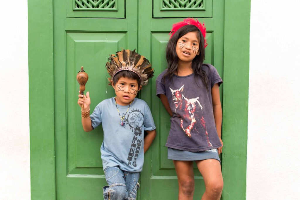 Visiting an Indigenous Brazilian village is one of the cool things to do in Paraty, Brazil