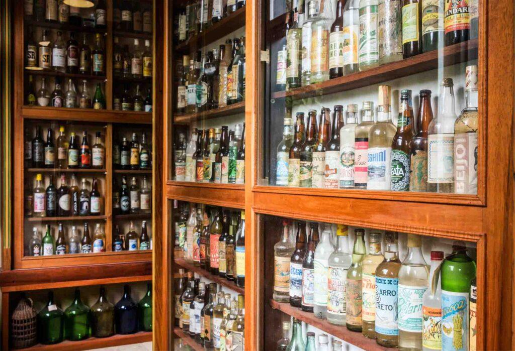 Cachaca shop in Paraty, Rio de Jjaneiro, Brazil