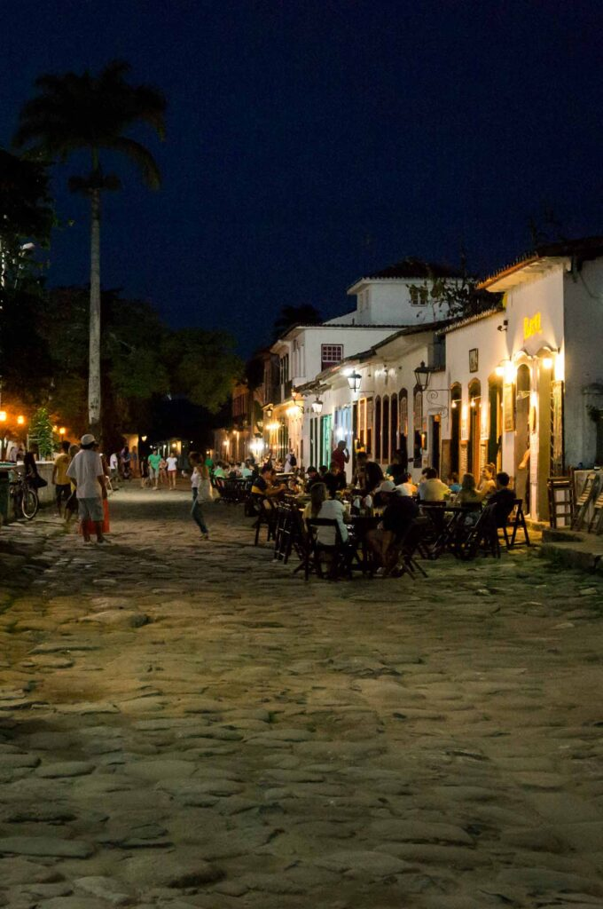 Hanging out at the best Paraty bars is one of the best things to do in Paraty, Brazil
