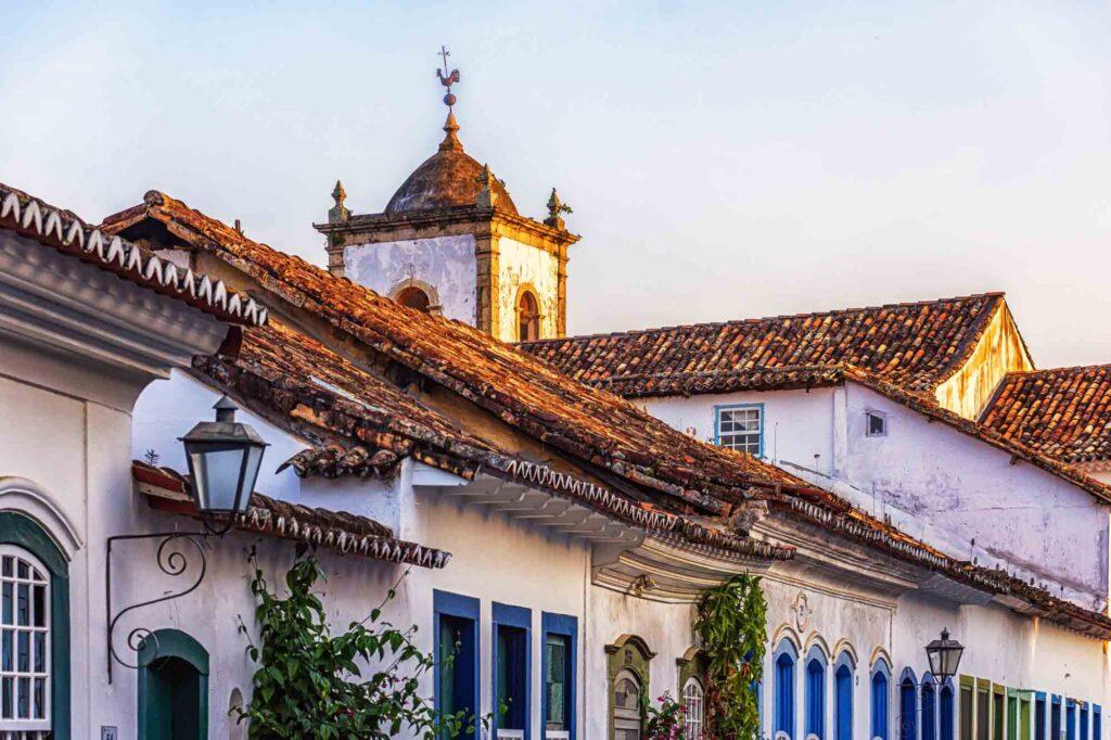 Colonial Architecture in Paraty, rio de Janeiro, Brazil