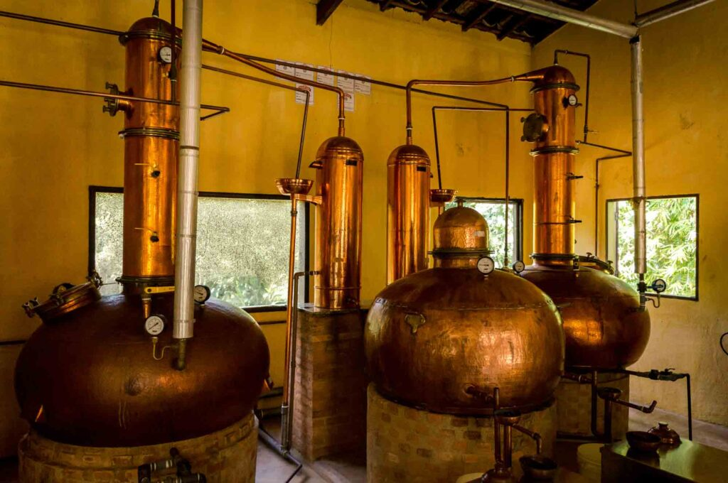Sipping on Brazil's greatest liquor from the Paraty Distilleries is one of the best things to do in Paraty, Brazil