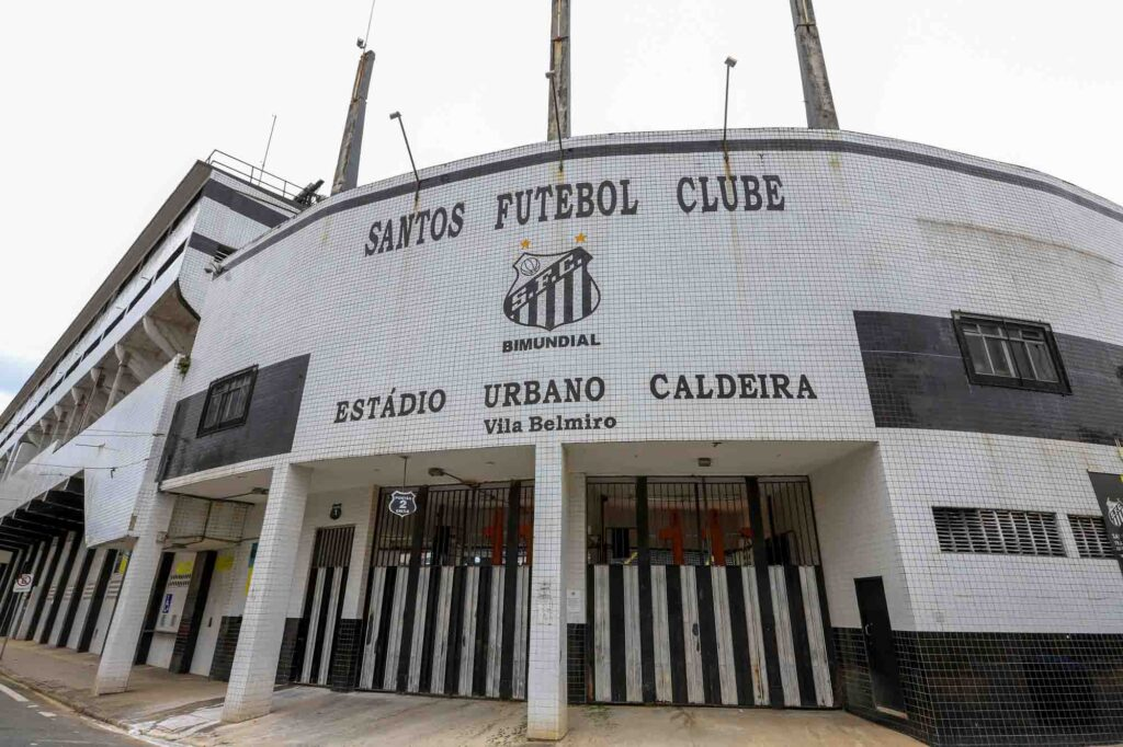 Watching a game at Urbano Caldeira Stadium is one of the cool things to do in Santos, Brazil